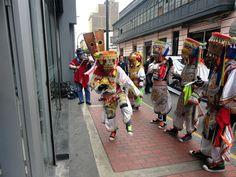 Danzantes de Tijeras en Lima