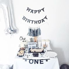 Harry Turns One | Oh So Amelia