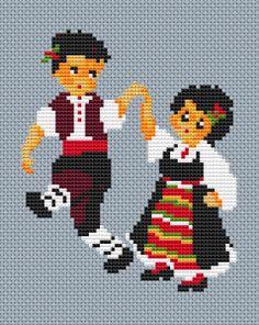 Embroidery Motifs, Cross Stitch Embroidery, Cross Stitch Designs, Cross Stitch Patterns, Creative Embroidery, Needlepoint Patterns, Cross Stitch Animals, Christmas Cross, Cross Stitching