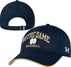 e77f6573b0b Notre Dame Fighting Irish Under Armour Boxing Relaxed Adjustable Hat - Navy  Blue