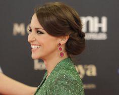 ¡Copia los peinados de los Goya! #boda #peinados