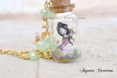 mermaid in a bottle by AngeniaC