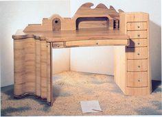 Möbelknäufe - schreibtisch 1 - ein Designerstück von harri bei DaWanda