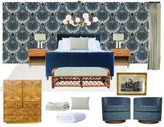 A Bold and Traditional Master Bedroom Introduction