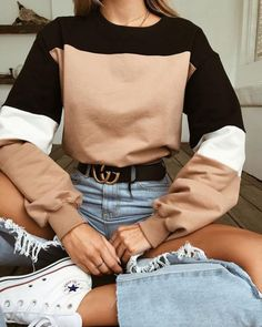 Street Style Summer Looks Summer outfits Cute Casual Outfits, Summer Outfits, Winter Outfits Tumblr, Summer Holiday Clothes, Fall Winter Outfits, Outfits With Jeans, Casual Dresses For Teens, Holiday Outfits, Jean Outfits