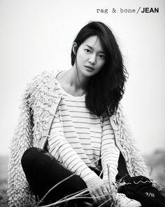 Shin Min-ah for Rag & Bone. Gorgeous!