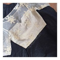 New Blouse Design Images and Different Style, Best Designer Blouse Design White Blouse Designs, Netted Blouse Designs, Blouse Neck Designs, Blouse Styles, Stylish Blouse Design, Designer Blouse Patterns, Organza, Beautiful Blouses, Website Link