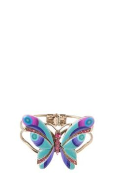 Desigual Butterfly bracelet. Not only do we offer original clothing but also fabulous accessories like this butterfly bracelet.