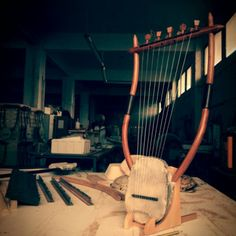 The 9 string version of the lyre of Erato!