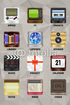 Mobile device icons v2.0 part 4