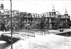 1898 City Hospital near Canal and Plum Streets Cincinnati Subway, Cincinnati Kentucky, Cincinnati Baseball, Abandoned Asylums, Abandoned Places, Norwood Ohio, City Hospital, Vintage Travel Posters, Old Pictures