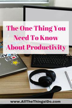 Productivity Training | Productivity tips