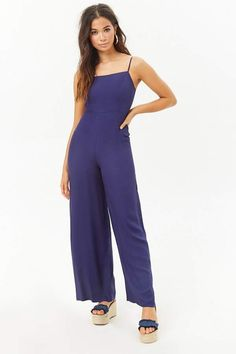3fa11a181a27e Forever 21 Palazzo Cami Jumpsuit Contemporary Dresses