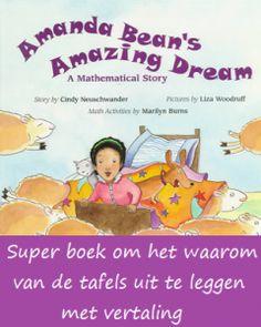 Amanda's Bean amazing dream | Klas van juf Linda