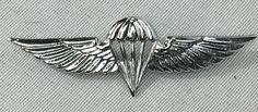 Israeli IDF Parachute Jump Wings