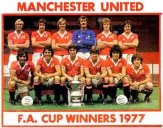 Manchester United FA Cup 1977