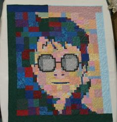 Harry Potter Lap Quilt or Wall Quilt by ThimbleJoys on Etsy, $200.00