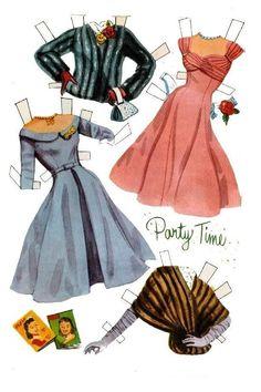 Image result for debbie reynolds paper dolls