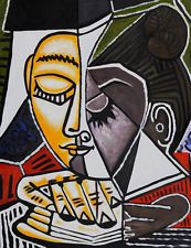 Pablo Picasso Head of a Woman Reading canvas print giclee 8X12&12X17