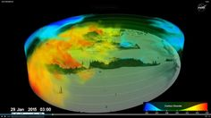 NASA's new global view of carbon dioxide
