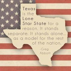 TEXAS ONLY TEXAS  NOT PART OF ANY CONFEDERACY AGENDA
