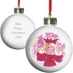 Personalised Angel Christmas Bauble  from Personalised Gifts Shop - ONLY £9.99