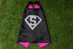 Baby superhero cape baby supergirl cape personalized cape