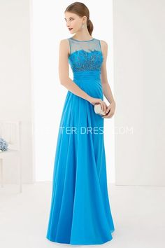 $125.89-Jewel Neck A-Line Pleated Chiffon Long Elegant Prom Dress With Appliques and Bandage. http://www.ucenterdress.com/jewel-neck-a-line-pleated-chiffon-long-prom-dress-with-appliques-and-bandage-pMK_301439.html.  Shop for cheap prom dresses, party dresses, night dresses, maxi dresses, little black dresses, junior prom dresses, girls prom dresses, designer prom dresses for sale. We have great 2016 prom dresses on sale. Buy prom dresses online at UcenterDress.com #prom #dress today!
