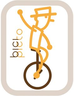 pictograma monociclo