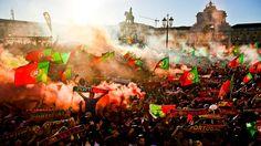 Falter-Invasion, Final-Tränen, Flitzer, Krawalle: Portugal erlöst Ronaldo und bricht Frankreichs Herz