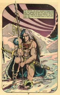 Tim Conrad's earliest published Conan?