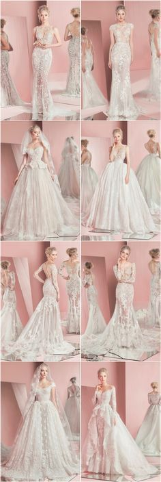 Zuhair Murad Bridal Spring 2016 Wedding Dresses…