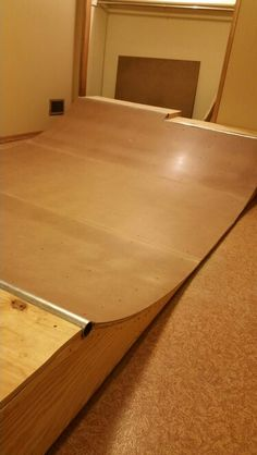 how to build a mini skate ramp