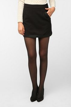 #Urban Outfitters         #Skirt                    #Pins #Needles #Faux #Leather #Trim #Skirt          Pins and Needles Faux Leather Trim Skirt                                      http://www.seapai.com/product.aspx?PID=1643662