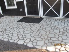 Update your patio and landscaping with the Pathmate Do-It-Yourself Cobblestone-Look Walkway Molds. Description from pinterest.com. I searched for this on bing.com/images