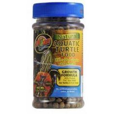 Aquatic turtle growth formula food.