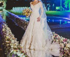 Vestido de Noiva Semi Sereia Ateliê Carol Hungria – Empório Lulu