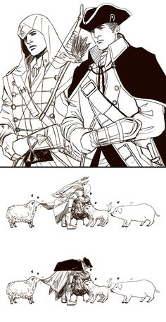 Father and Son by Eolianus on deviantART-assassin's creed 3