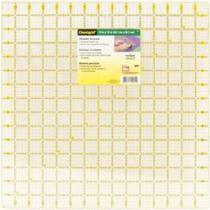 Omnigrid 15-Inch-by-15-Inch Quilter's Square Omnigrid http://www.amazon.com/dp/B001CE73J4/ref=cm_sw_r_pi_dp_o0D0wb1F3XD53