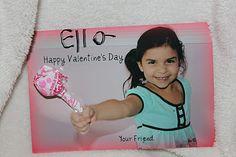 Karen's daughter's Valentine