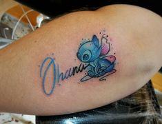 By Ochre Fox Tattoo Ohana disney beautyandthe Trendy Tattoos, Small Tattoos, Tattoos For Women, Small Disney Tattoos, Disney Sister Tattoos, Disney Inspired Tattoos, Cousin Tattoos, Tattoo Dotwork, Fox Tattoo