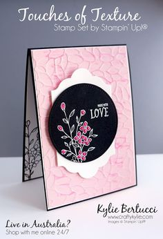 Stampin' Up! Australia: Kylie Bertucci Independent Demonstrator: VIDEO: Facebook Live Stampin' Up!® Weekly Class and Chat