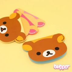 Rilakkuma Shaped Notepad