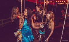 Gigi Hadid, Barbara Palvin, Lottie Moss e Emily DiDonato para Campanha de inverno/2015 da Rosa Chá.