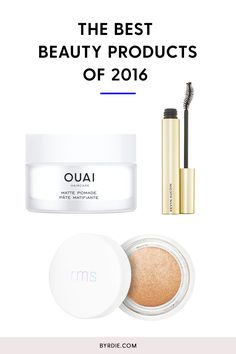The best-selling beauty products of 2016