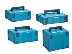 Makita Makpac Pack of 4 Connector Case Type 1,2,3 and 4