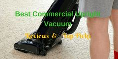 If you're looking for the top commercial upright vacuum, you've come to the right place. Commercial Vacuum, Vacuum Reviews, Best Commercials, Cleaning Equipment, Cleaning Business, Clean House, Lawn, Model