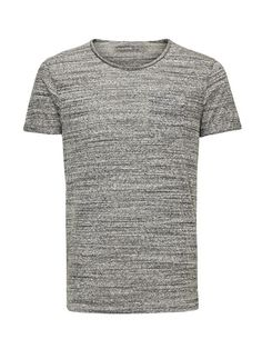 JACK & JONES T Shirt Melange Long Fit
