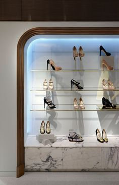 Harrods Shoe Salon — Shed — Interior Architecture   Design. Lucy · Kalogirou aa365523db6