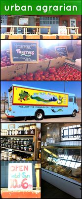 Shop for local food at Urban Agrarian in OKC #MyHometownPins